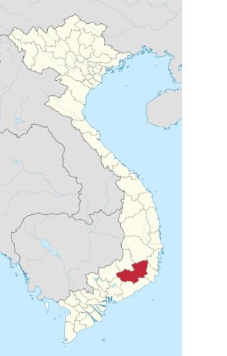 LamDong map
